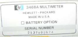 HP HEWLETT-PACKARD 3468A MULTI METER image 2
