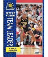 Chuck Person ~ 1991-92 Fleer #382 ~ Pacers - $0.05