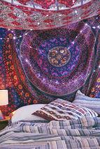 Wall Decor Hippie Tapestries Bohemian Mandala Tapestry Hanging Indian Throw - $403,29 MXN