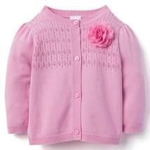 NWT Gymboree California Dreamers Baby Girls Pink Cardigan Sweater - $10.99