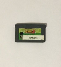 Sonic Advance 2 (Nintendo Game Boy Advance, 2003) - $10.88
