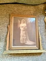 1920-30's VTg antique ART DECO NOUVEAU SWIVEL SWING TILT PICTURE FRAME p... - £15.39 GBP