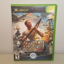 Medal of Honor Rising Sun Original Microsoft Xbox Video Game 2003  - $8.75
