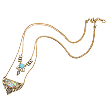 Double Layers Geometric Necklaces Pendants Brand Jewelry Women Christmas... - $18.47