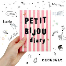 Petit Bijou Cute Illustrated Diary Undated Planner Journal Scheduler Org... - $24.99