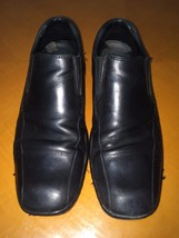 Mens Men's Kenneth Cole New York Come Fly Slip-on Black Loafers Shoes Size 8 - $13.16