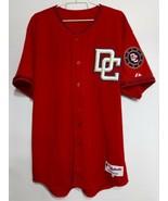 Size 48 Majestic Red Baseball Jersey, Washington DC Nationals - $39.55