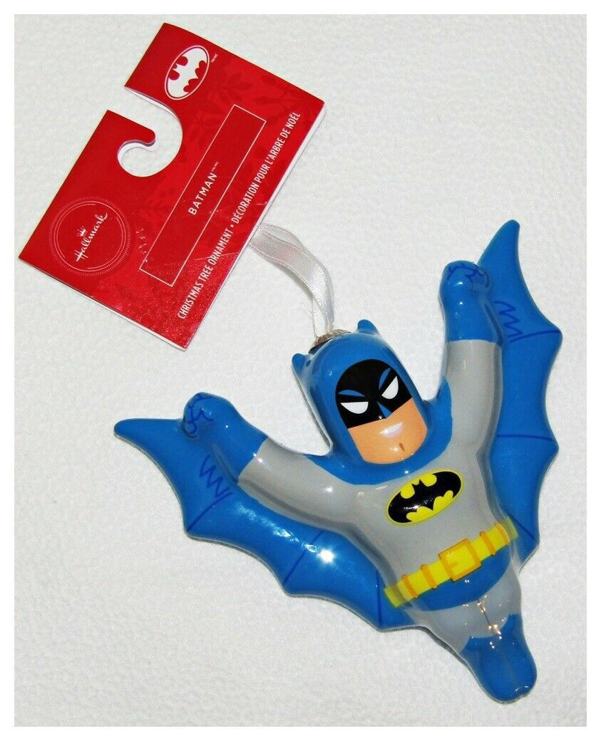 Primary image for DC Comics Batman Classic Decoupage Ornament Hallmark New