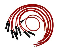 9.5mm Red Silicone High Performance Spark Plug Wire Set Universal Fit V8 V6 image 4