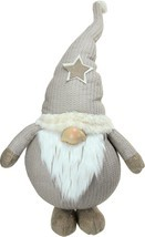 """15.75"""" Plush and Portly Champagne Gnome Decorative Christmas Tabletop Fi... - $11.64"""