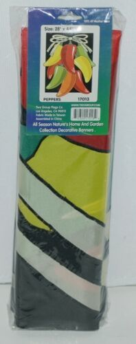 Two Group Flags Co 17013 Peppers Indoor Outdoor Decorative Banner
