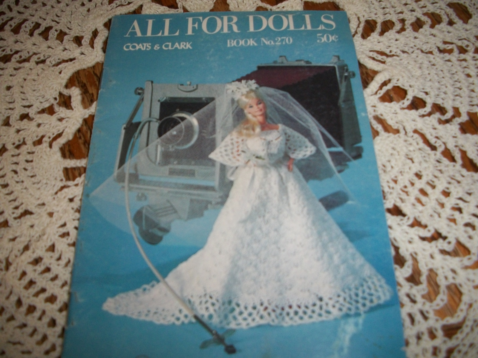 Primary image for All For Dolls Coats & Clark Book No. 270