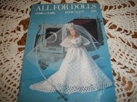All For Dolls Coats & Clark Book No. 270 - $7.00