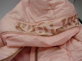 EUC Tommy Hilfiger Little Girls Hooded Puffer Jacket Size 5 Pink image 10
