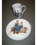 Vtg Collectable Norman Rockwell Cup 1982 The Lighthouse Keeper's Daughte... - $9.46