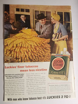 1940 Lucky Strike Cigarettes tobacco OR Good Year Tires difference Vinta... - $6.95