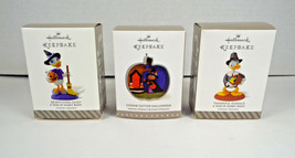 Hallmark Keepsake Ornaments New Donald Daisy Duck Cookie Cutter Hallowee... - $22.24