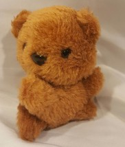 """Vintage 4"""" Brechner Brown Teddy Bear with Hang Ribbon - $4.99"""