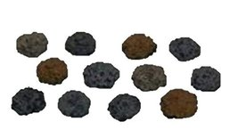 Coin Pile (Set of 12) 28mm scale pre painted Dungeon Game Terrain Accessories
