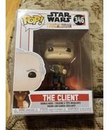 Star Wars The Mandalorian The Client Vinyl POP! Figure Toy #346 FUNKO *I... - $9.89