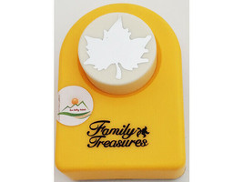 Family Treasures Large Punch, Maple Leaf