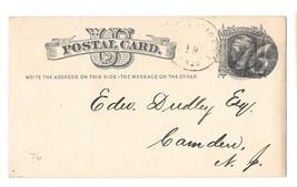 MA 1876 Mattapoisett Massachusetts Fancy Negative 76 Cancel on UX5 Posta... - $27.50