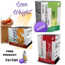 Omnilife Dietary Supplement Weight Loss Kit Unisex Drink Mixes & Shaker Bottle - $133.65