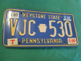 Collectible License Plate Tag..PENNSYLVANIA Keystone State VIC 530 - $8.50