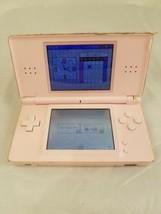 Nintendo DS Lite Pink Coral Handheld System USG-001 - AS IS - $28.04