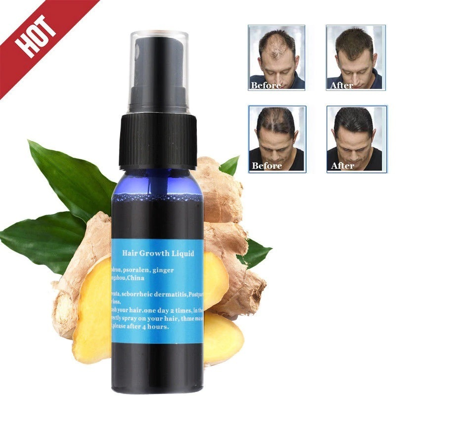 Primary image for 30ml Effective Ginger Fast Growth Hair Liquid Essence Okeny's Fast Growth Hair