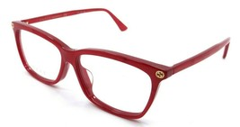 Gucci Eyeglasses Frames GG0042OA 003 55-13-145 Red Made in Italy - $245.00