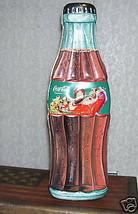 Coca Cola Tin Box Bottle Shape 1999 - $21.03