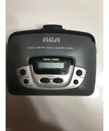 RCA RP-1872C Portable Digital AM/FM Radio Cassette Player  - $9.49