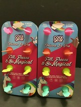 Unicorn Ice Pop Popsicle Molds Lot of 2 Sets of 8 Total16 BPA Free Cool ... - $26.26 CAD