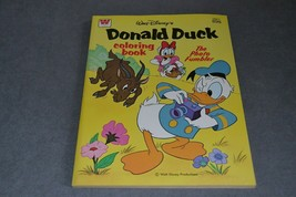 Whitman Coloring Book: Donald Duck Disney 1980 [NEW & UNUSED] NOS - $15.00
