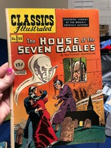 Classics Illustrated #52 HRN #53 GD Gilberton Comic Book House Seven Gab... - $14.01