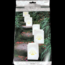 Elegant Damask Bridal Luminaries Party Decoration Pack of 24 by Amscan - $404,61 MXN