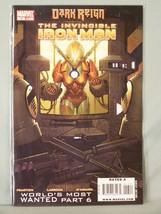 Marvel 13 Dark Reign The Invincible Iron part 6 Man Fraction Larroca D'A... - $2.53