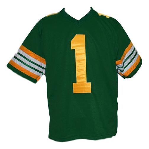 Warren moon  1 edmonton eskimos football jersey green   1