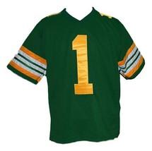 Warren Moon #1 Edmonton Eskimos Men Football Jersey Green Any Size image 1