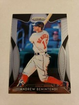 2019 Panini Prizm Andrew Benintendi #37 Boston Red Sox - $1.90