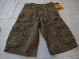 Lee boys shorts NWT cargo utility adjustable waist 7 R regular youth NEW... - $20.72