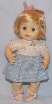 "Vtg Horsman Doll 1977 w/ Original Clothes Sleep Eyes 11 1/2"" Soft Body - $25.05"