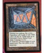 Mtg Magic Proxy 1x Mana Crypt Blackcore Commander  - $5.40