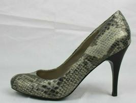 Js Jessica Simpson Oscar Femmes Chaussures Talons Imprimé Animal Gris Ta... - $18.89