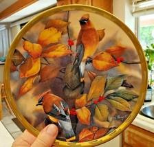 "Lenox Collector Plate Cedar Waxwings ""Among The Berries"" Catherine McClu... - $21.04"