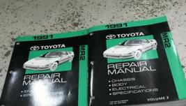 1991 Toyota MR2 MR 2 Service Repair Workshop Shop Manual Set OEM - $143.54