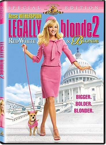 Legally Blonde 2: Red, White & Blonde Special Edition DVD