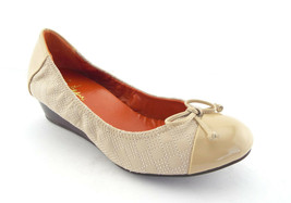 New Cole Haan Size 7 Air Tali Ivory Wedge Ballet Heels Shoes - $74.00