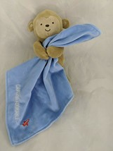 Carters Child of Mine Monkey Lovey Security Blanket Captain Adorable Stuffed   - $9.95